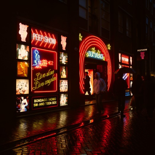red light district, amsterdam, sex show, sex shop,